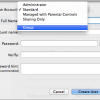 Create New User Accounts & Groups for Mac