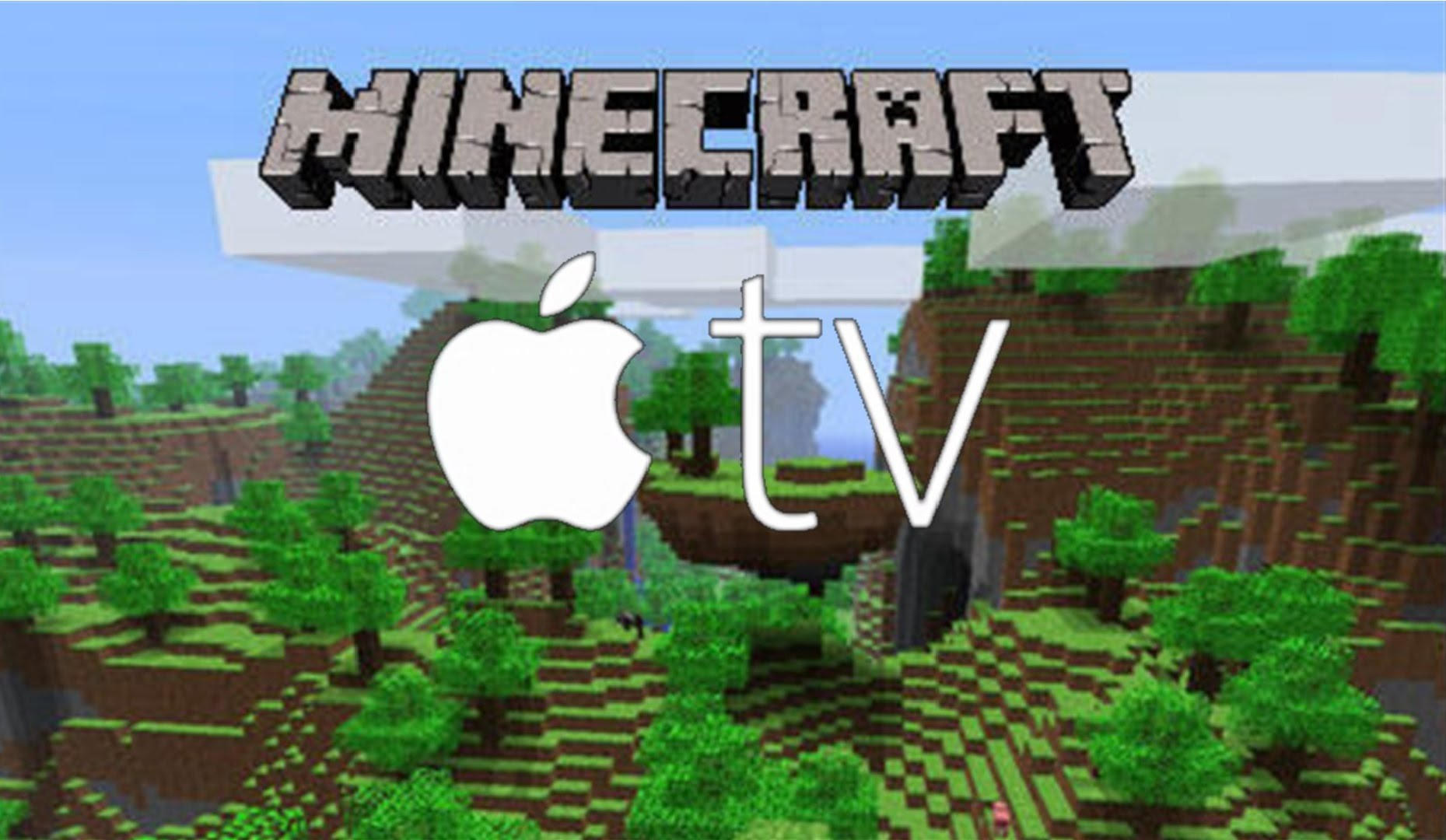 Minecraft on Apple TV