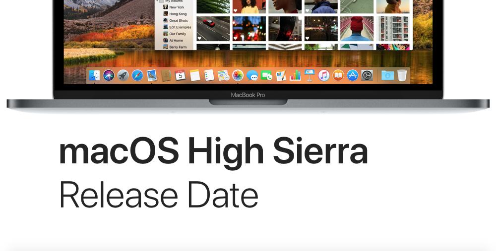 macOS-High-Sierra-release-date