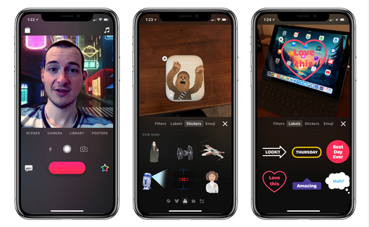 Clips 2.0 Updates with New Selfie Scenes Feature (iPhone X-Exclusive)
