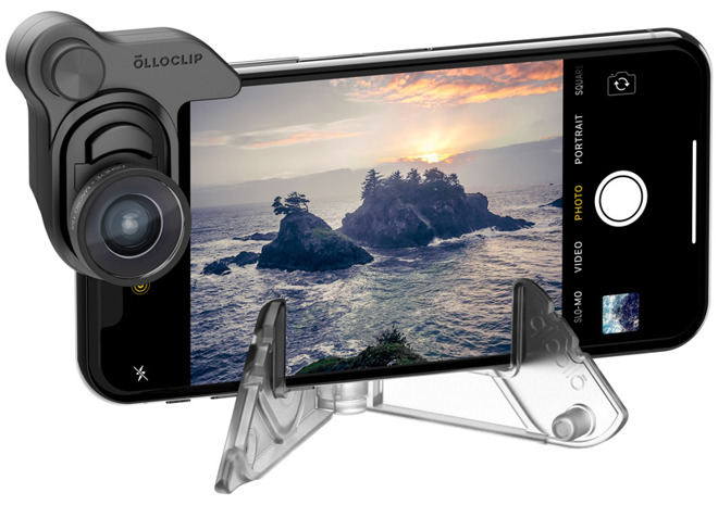 Olloclip Debuts New Connect X Lens System for iPhone X