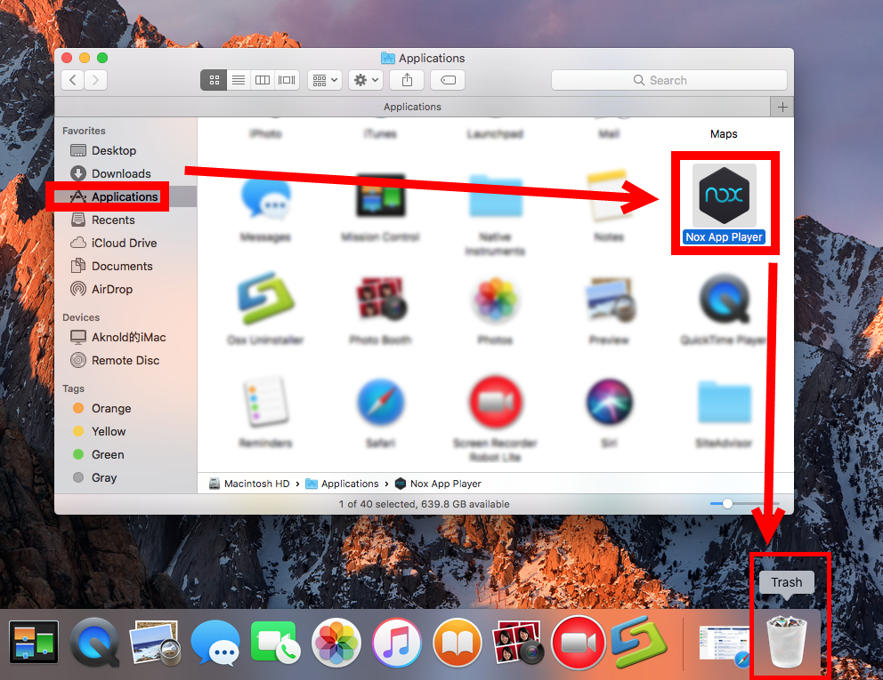 how to uninstall Nox App Player for Mac (2)