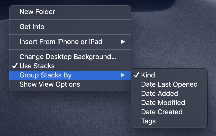 macOS Mojave: Organize Your Mac's Desktop With Stacks