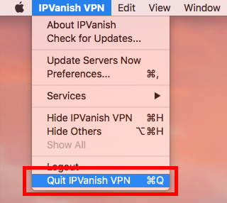 uninstall IPVanish VPN for mac - osx uninstaller (4)