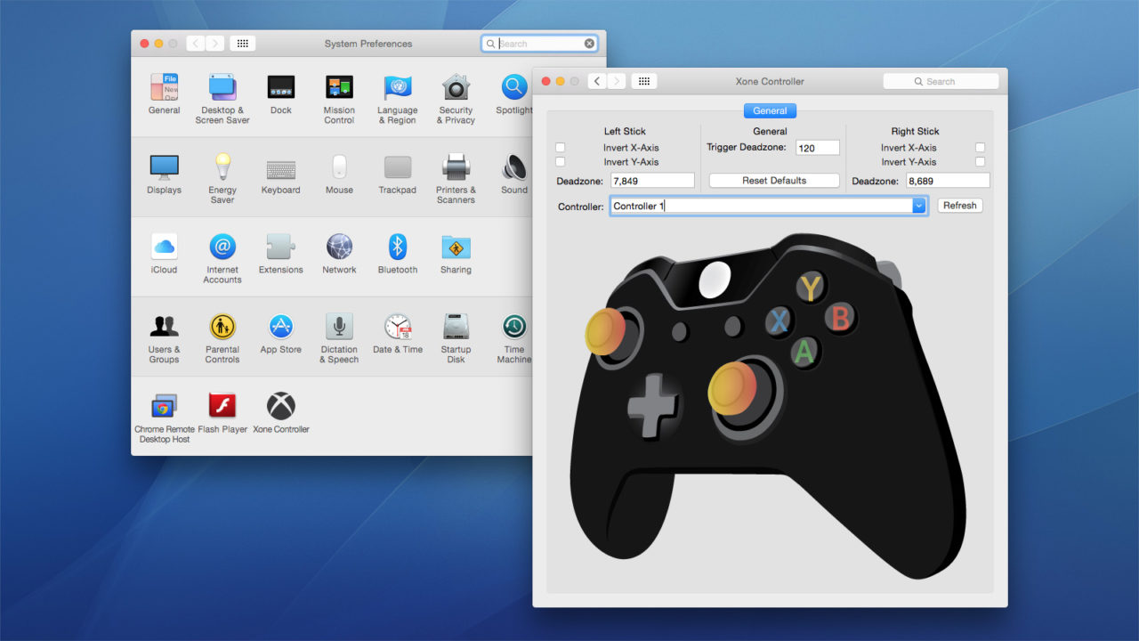 uninstall box 360 Controllers on mac