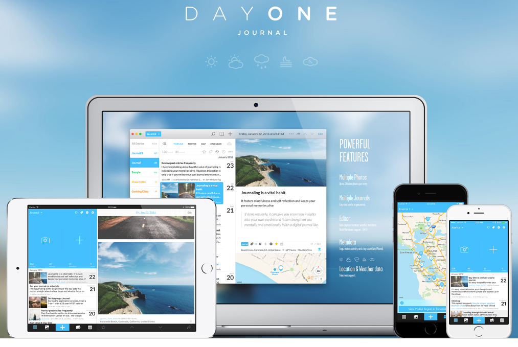 Day One 3.0 Update Rolls out for iPhone and iPad