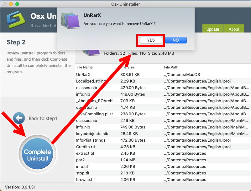 how to uninstall UnRarX for Mac - osx uninstaller (8)