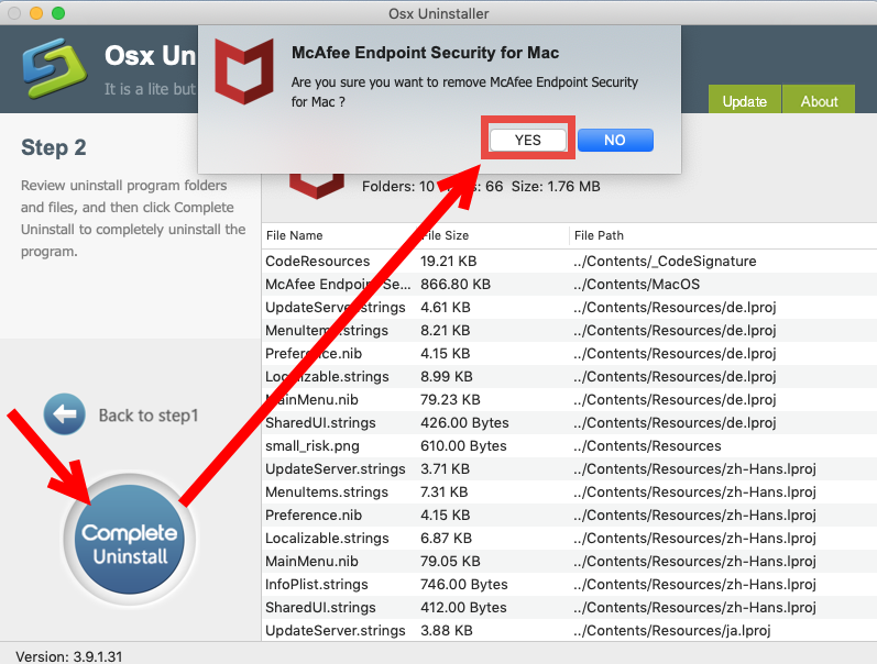 uninstall McAfee Endpoint Security for mac - osx uninstaller (22)